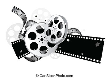 movie equipment for movie theme design