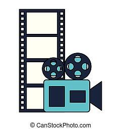 movie film, bioscoop