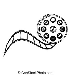 movie film clipart icon