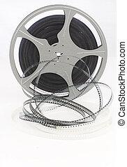 movie film reel unraveling