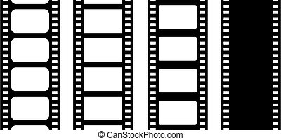 Movie film strip vector illustration