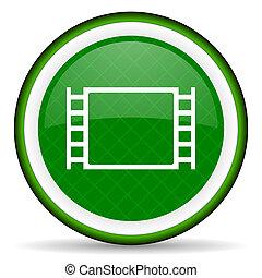 movie green icon