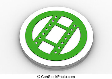 movie Icon Button