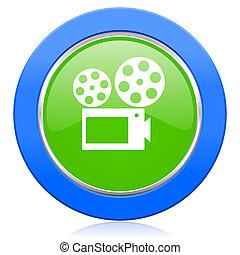 movie icon cinema sign
