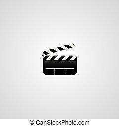 movie logotype theme
