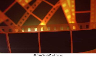 """Movie Making Film Tape Rolls"" - ""A glorious 3d rendering of..."