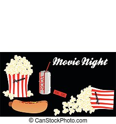 Movie Night with all the trimmings, - Going to the movie and...