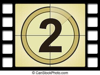 Movie Number 2 - Film countdown. Number 2