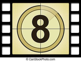 Movie Number 8 - Film countdown. Number 8