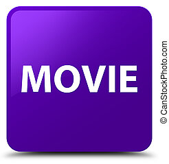 Movie purple square button