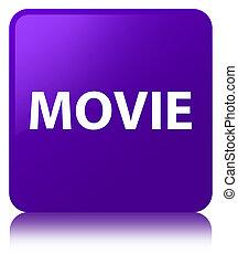 Movie purple square button