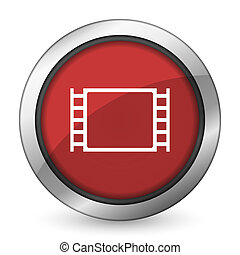 movie red icon