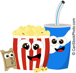 Movie refreshments waiting for you at the lobby