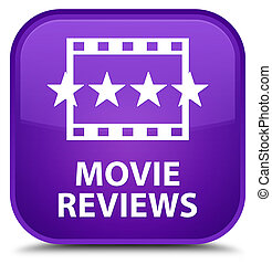 Movie reviews special purple square button