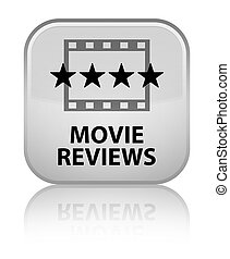 Movie reviews special white square button