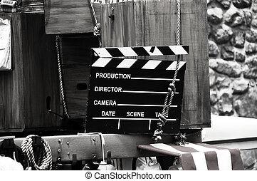 Movie Slate - Phot of a Movie Slate