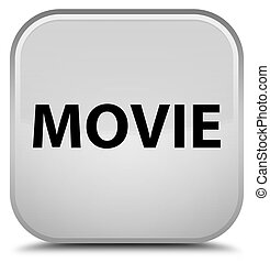 Movie special white square button