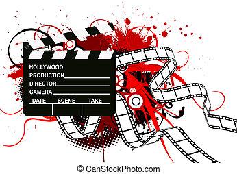 Movie theme background