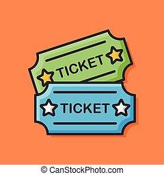 movie ticket icon