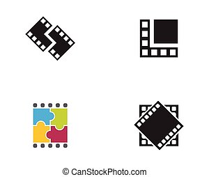 movie vector design illustration
