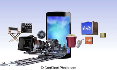 Movie,Drama contents for Smartphone - Movie, Drama, VOD...