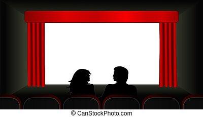 movies, illustration