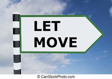movimento, conceito, deixe