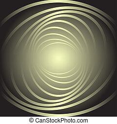 movimento, fondo., spirale