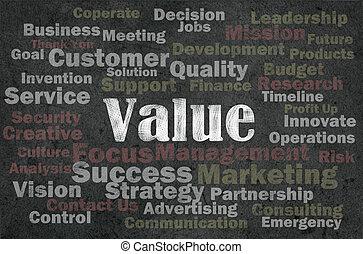 movimento, raggi, parola, valore