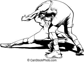 movimento, wrestling