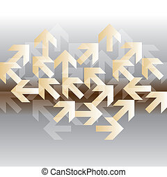 moving arrow in all directions