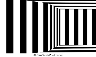 Moving background chessboard pattern in perspective, black ...