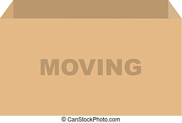 Moving Box Vector