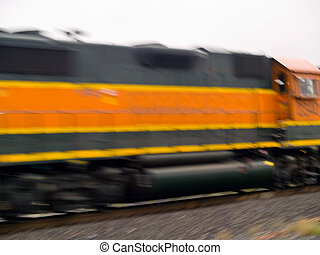 Moving Cargo Trains with Blur