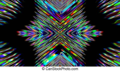 Moving Colorful Stripes. Colorful abstract background. Shiny Lines