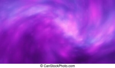 Moving Energy - Purple Flux - Purple energy clouds...