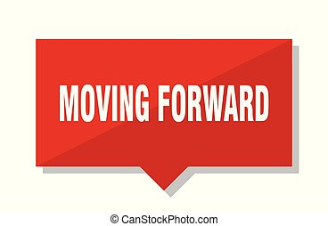 moving forward red tag