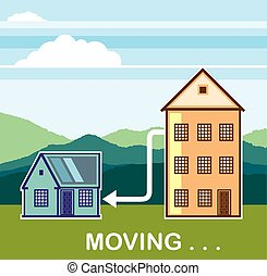 Moving From apartment into the House