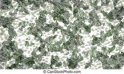 Moving khaki camouflage background - Camouflage background...