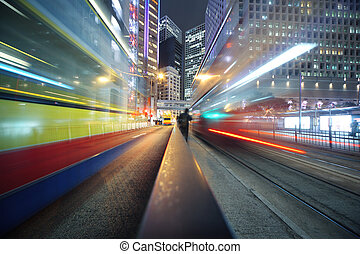 Moving lights background
