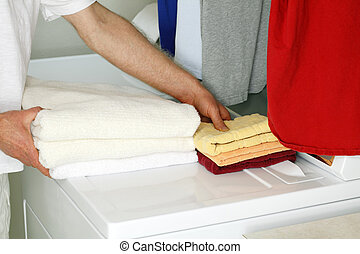 Moving Linens to Storage