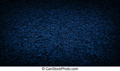 Moving Over Gravel Path At Night - Moving slowly over gravel...