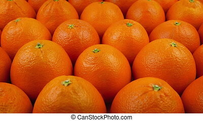Moving Past Delicious Oranges - Slowly moving above many...