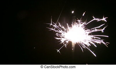 moving sparkler