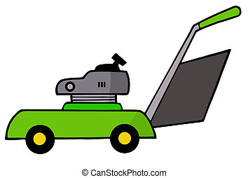 Mower  - Green Lawn Mower