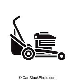 mower gramado, ícone