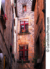 moyen-âge, architecture