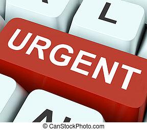 moyens, immédiat, urgent, important, clã©, ou