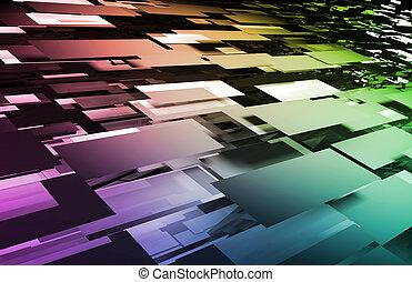 mozaika, cyfrowy