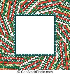 mozaika, ułożyć, abstrakcyjny, tło, boże narodzenie